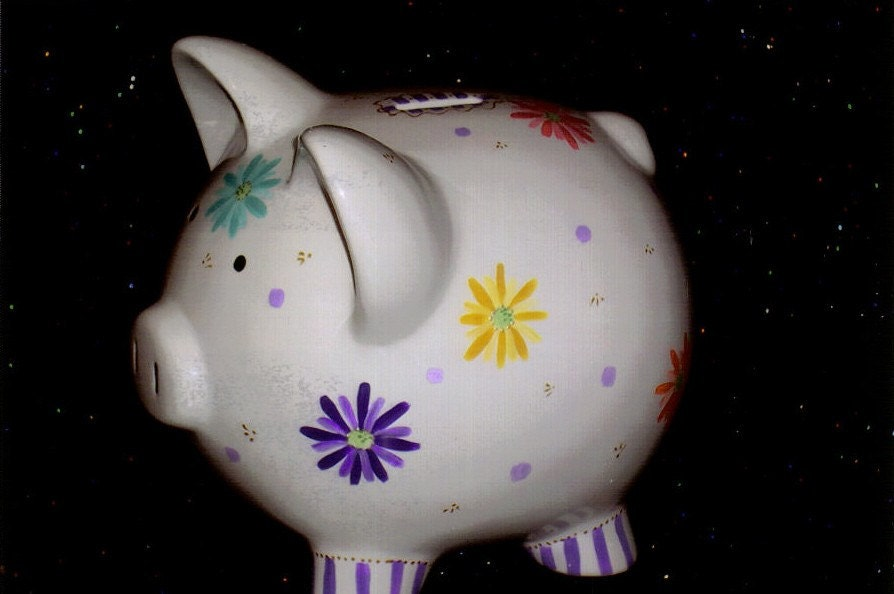 Daisy Piggy Bank