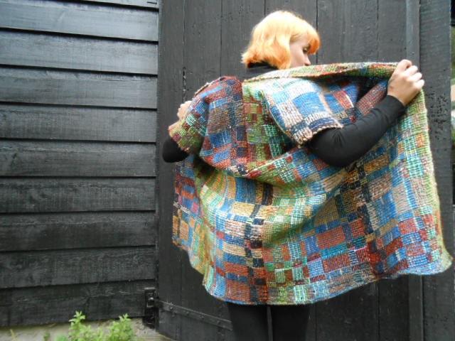 kimono, poncho, cardigan - RoosijnWeefwerk