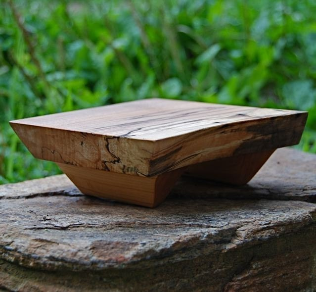 Mini Cutting Board and Platter - Sushi Board - Spalted Maple (Custom)