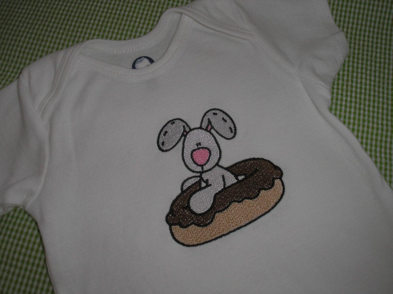 Kidz Korner Boutique - Onesie - Chocolate Bunny