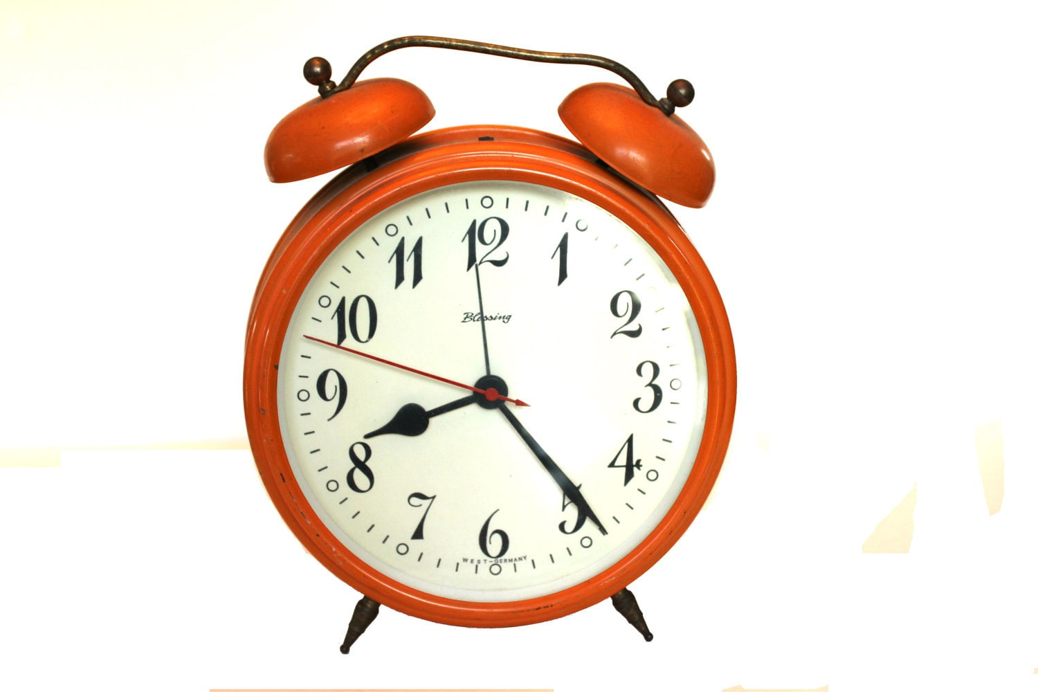 Orange Blessing Alarm Clock