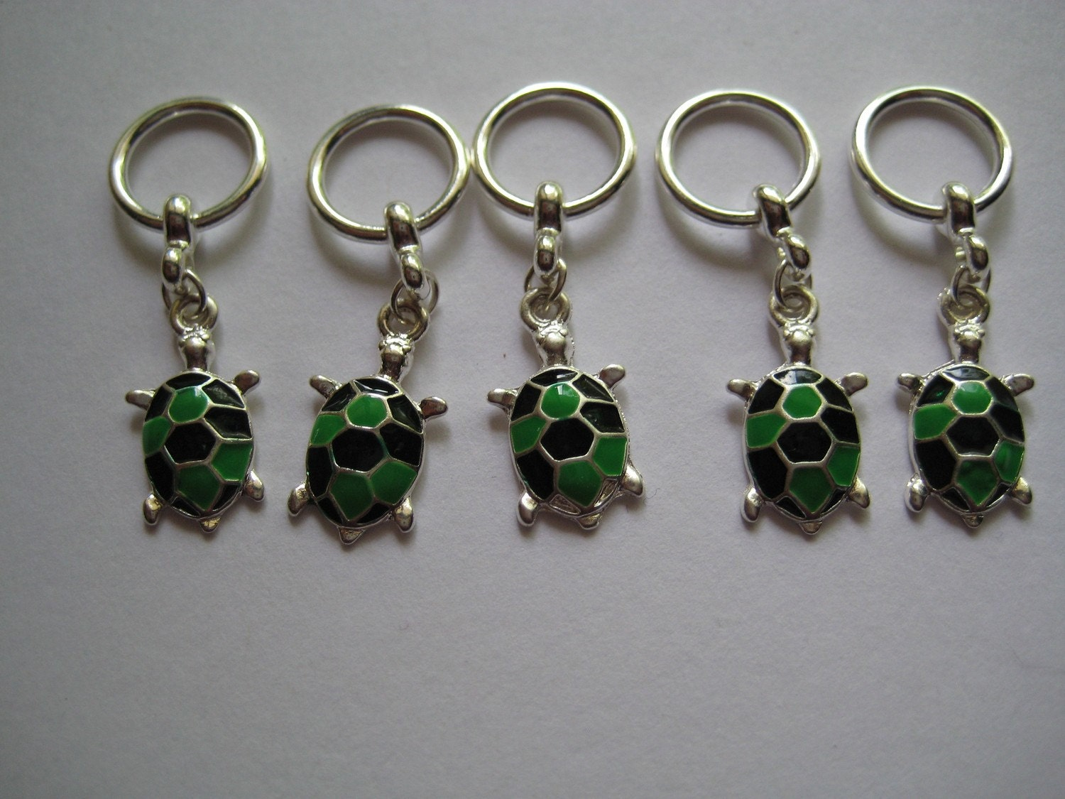 Turtle Stitch Markers