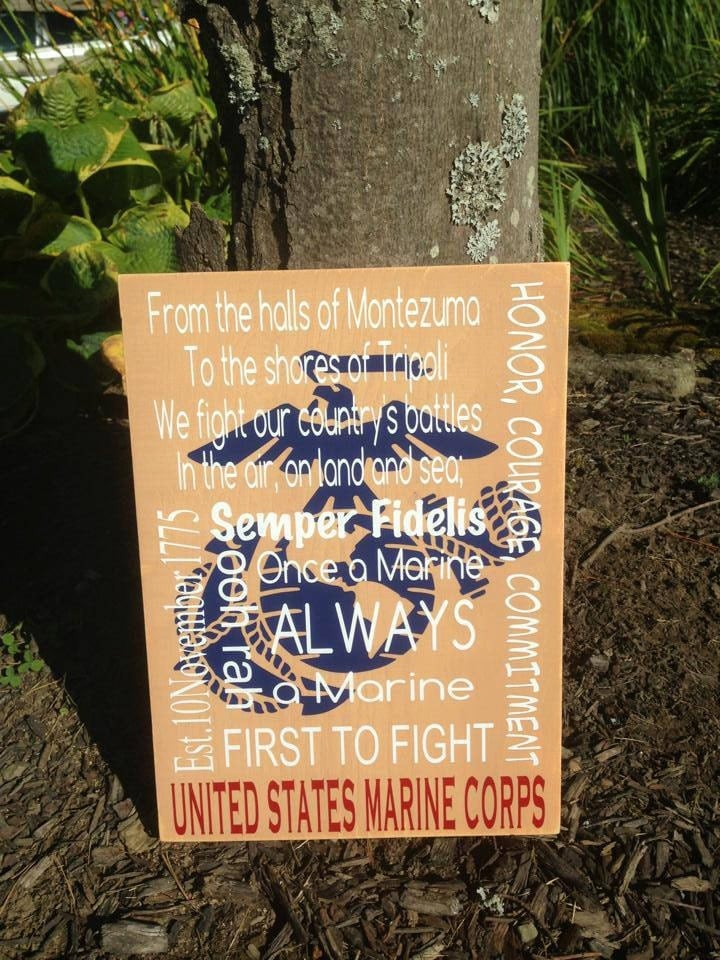 Items Similar To Marine Corps Wood Home Decor Distressed Home Decorators Catalog Best Ideas of Home Decor and Design [homedecoratorscatalog.us]