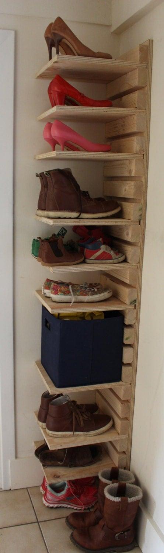 Полки для обуви в прихожую 96