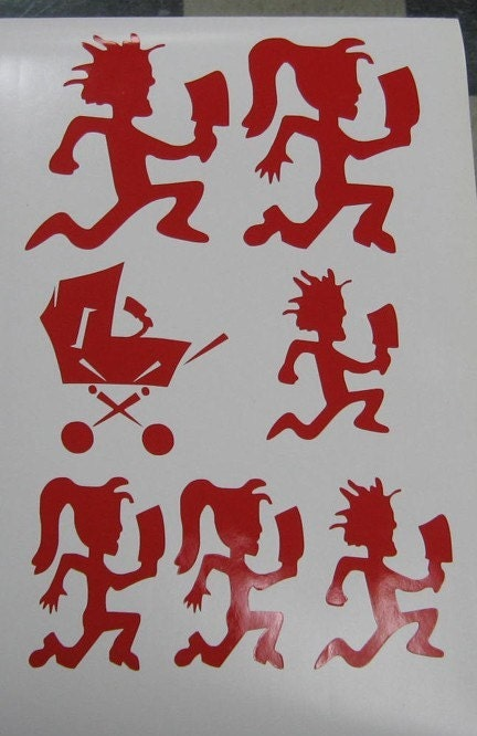 Insane Clown Posse Family And Kids Decal Sticker By