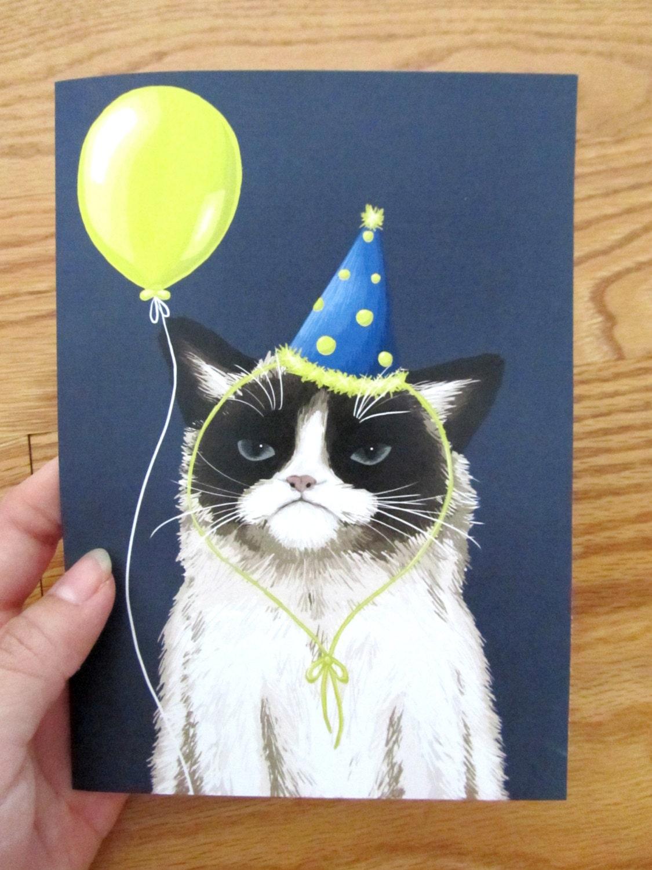 Как делать для кота открытку