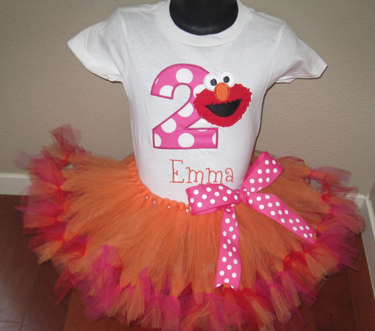 Personalized Elmo Birthday Shirt By TheTinyCloset On Etsy
