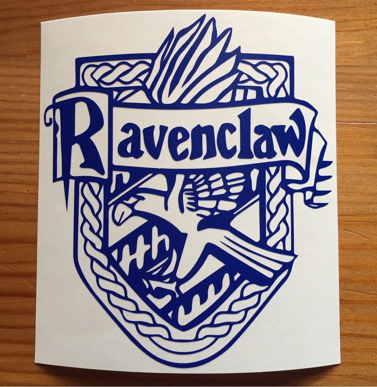 Harry Potter Inspired Decal Sticker Ravenclaw Crest Sticker Hogwarts Laptop Sticker MacBook Sticker HP Tablet Sticker Gift For HP Fan