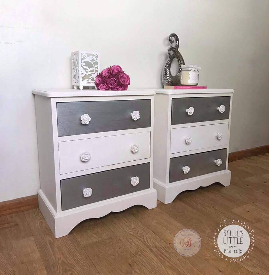 bedside drawers bedroom storage grey drawers chest of drawers bedside cupboard silver drawers metallic drawers