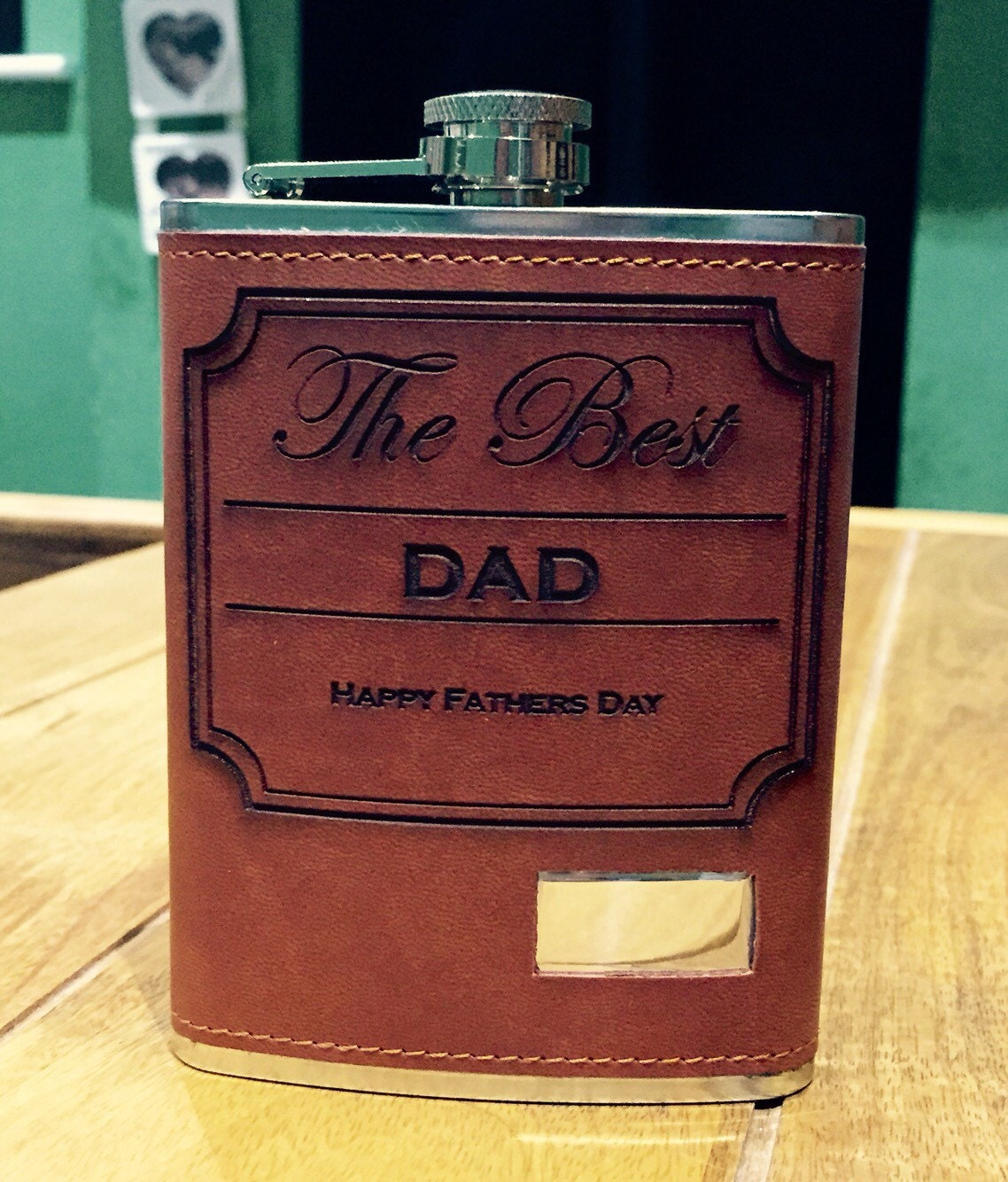 Fathers Day hip flask gift