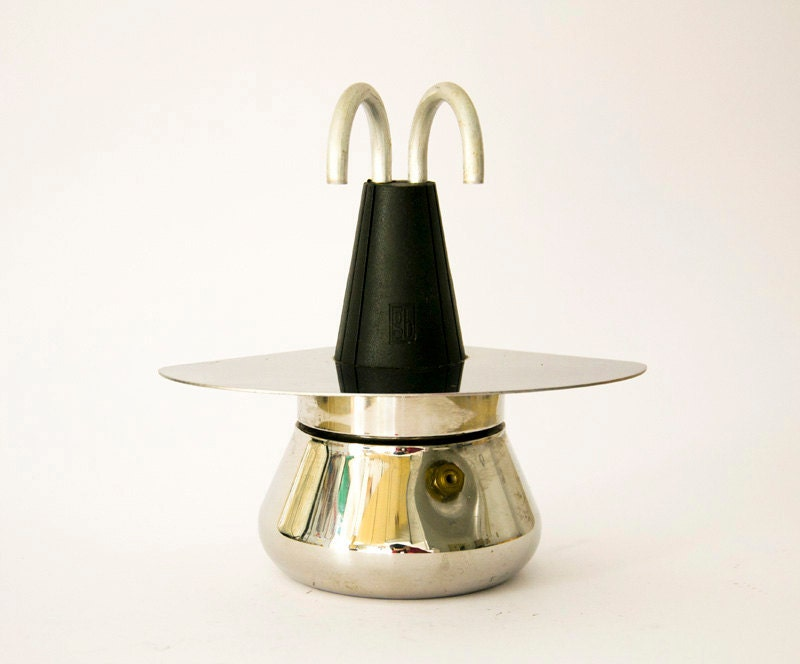Antique Italian Coffee Maker : Vintage Rare Italian coffee maker Stovetop Grillo by ilivevintage
