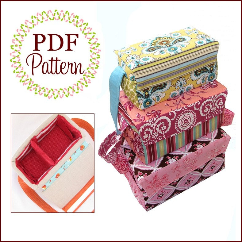 Case Study - Boxy Bags Boutique Pattern PDF E-Book, by the Scientific Seamstress