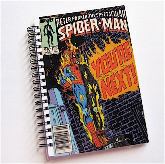 vintage-spider-man-comic-sketchbook