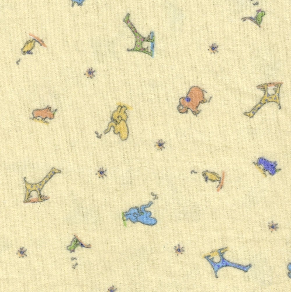 John lennon baby real love yellow flannel fabric 38 by for Yellow baby fabric