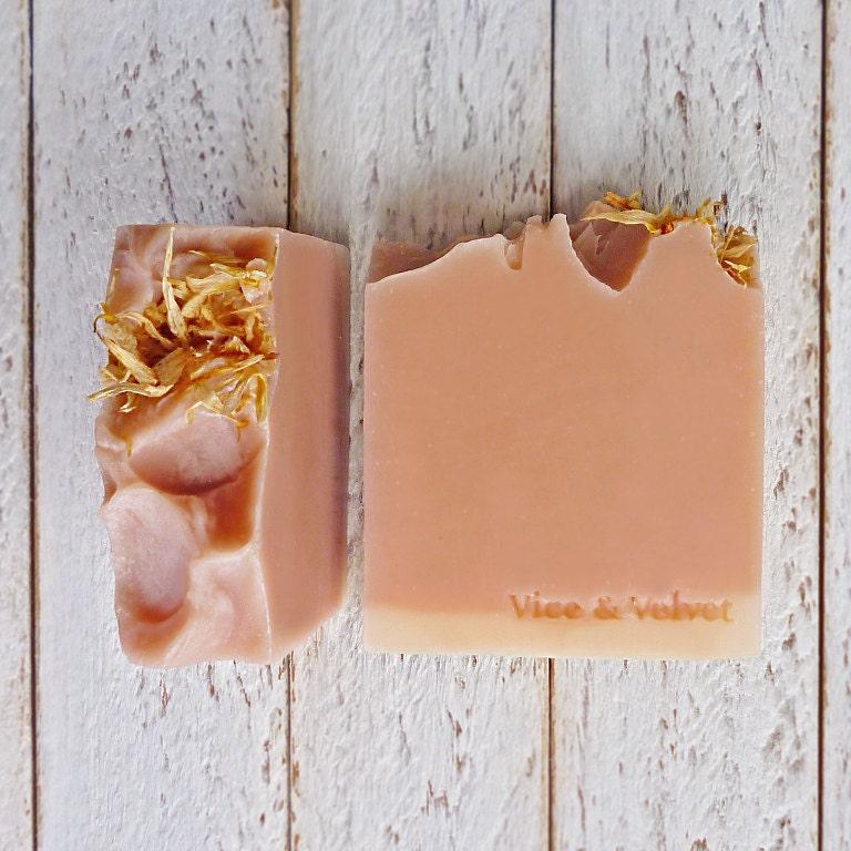 Siren Soap (VELVET) Rose Geranium, Ylang Ylang, Litsea, Orange & Patchouli