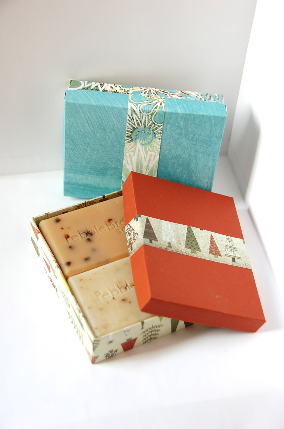how to make paper soap boxes