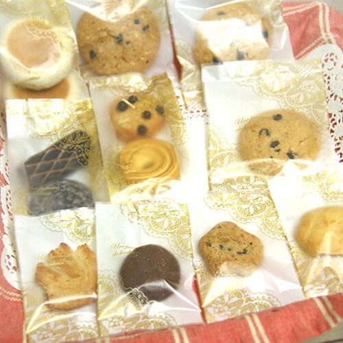 Gold lace Sweet Bags Set of 3size(10sheet)