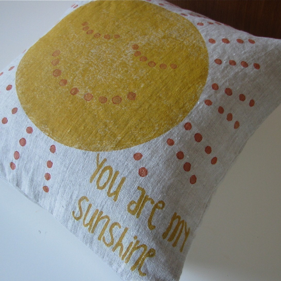 You are My Sunshine Pillow Slip