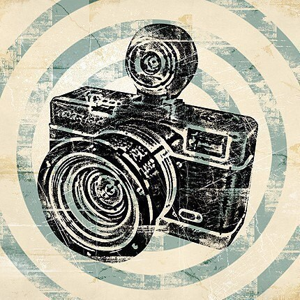 Vintage Camera Retro Pop Art Print by MonsterGallery on Etsy