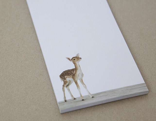 Notepad- Baby Deer