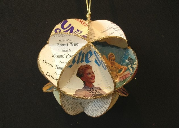 The Sound Of Music Album Cover Ornament Made Of By