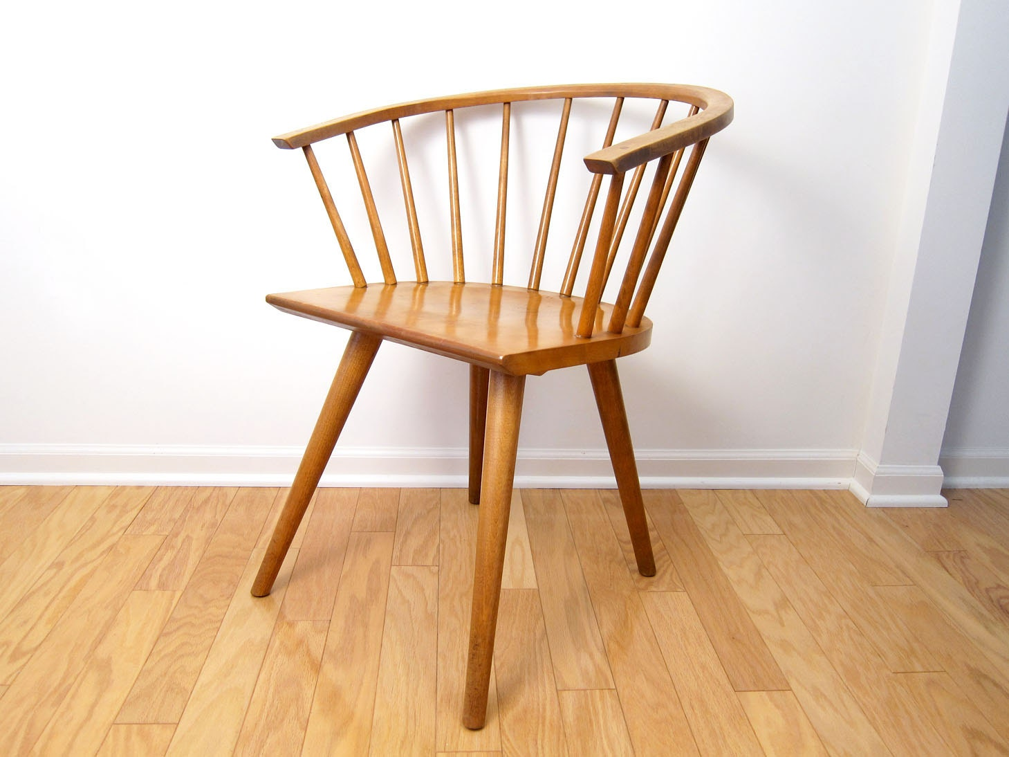 Conant ball side chair dining occasional by objectofbeauty