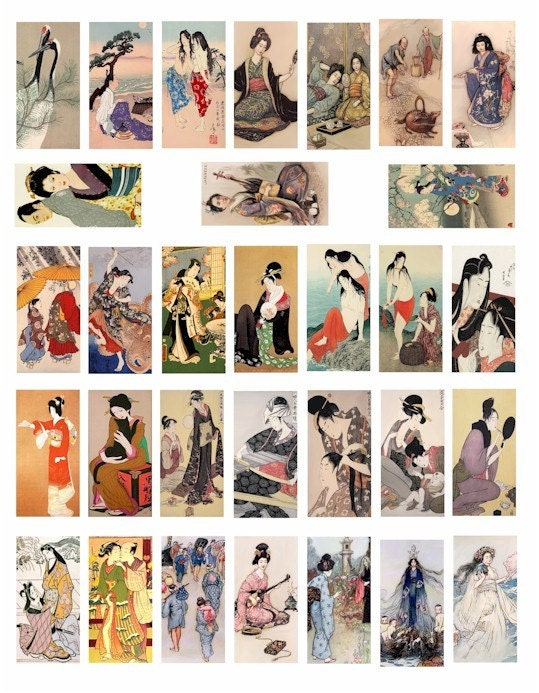 japanese art geisha. Chinese Japanese Geisha
