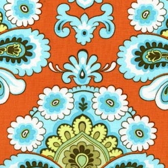 designed by AMY BUTLER her Belle Collection This is for 1/2 YARD of high quality very sought after fabric French Wallpaper choose either pic1 ORANGE