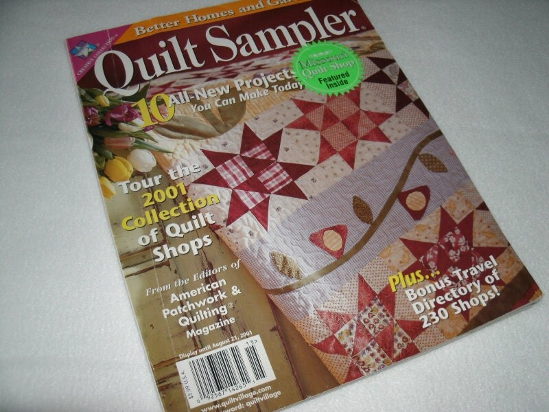 Items Similar To Better Homes And Gardens Quilt Sampler On