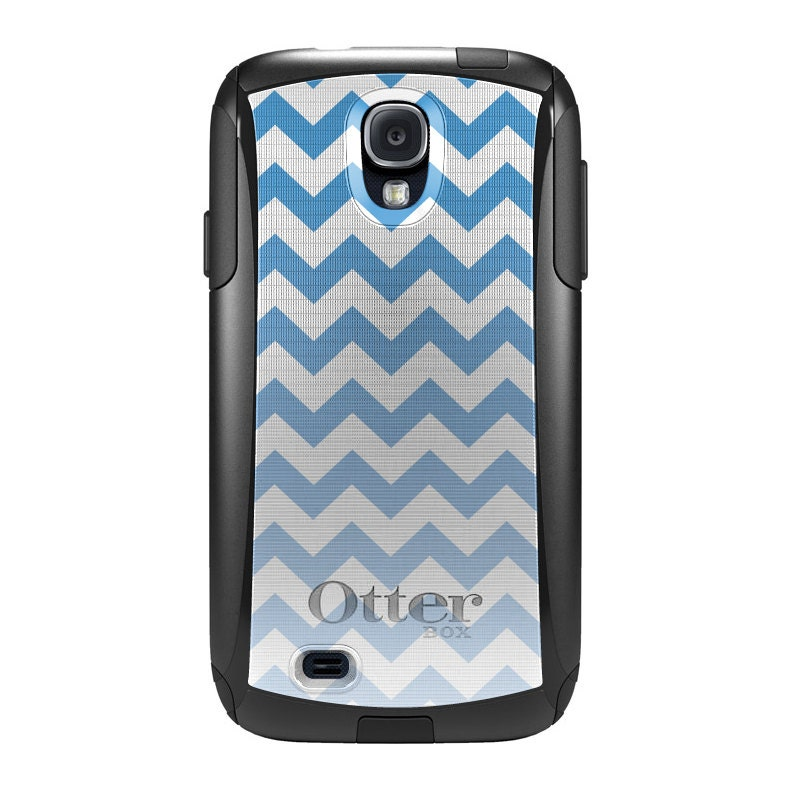 Custom OtterBox Commuter Case for Samsung Galaxy S4 S IV - Baby Blue