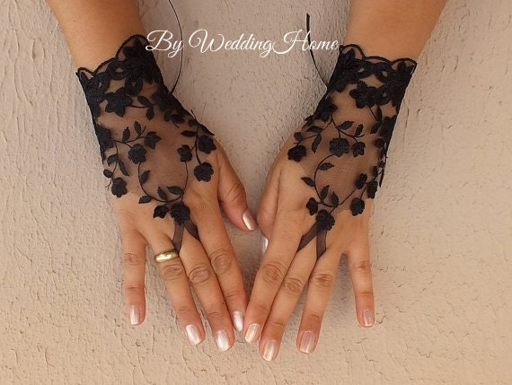 Unavailable listing on etsy for Lace glove tattoo