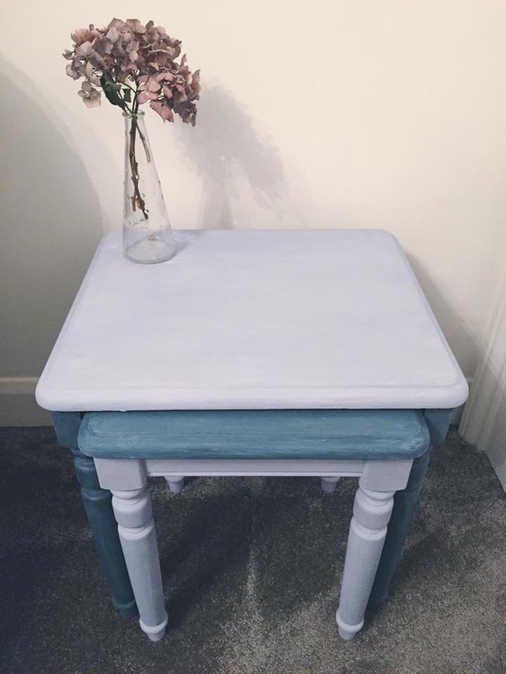 Nest of Tables  Side table Home Sweet Home Furniture The Little House of Vintage