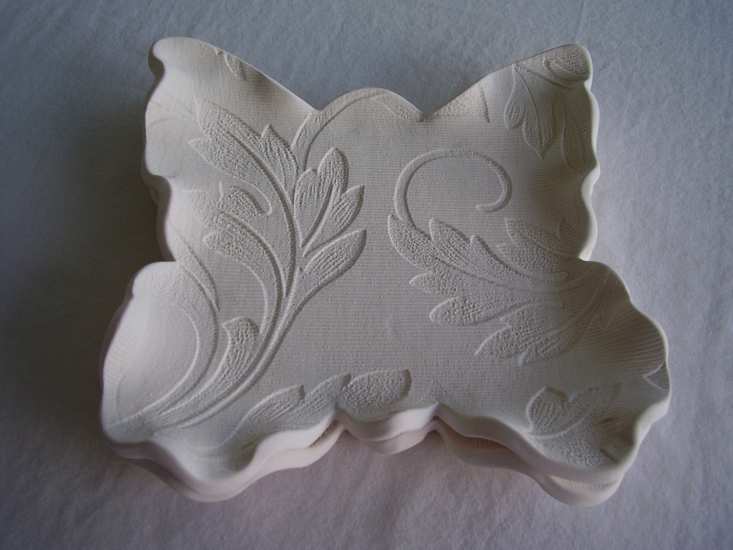 Made To Order - Butterfly Plates - Set of Two - Lunch/Appetizer