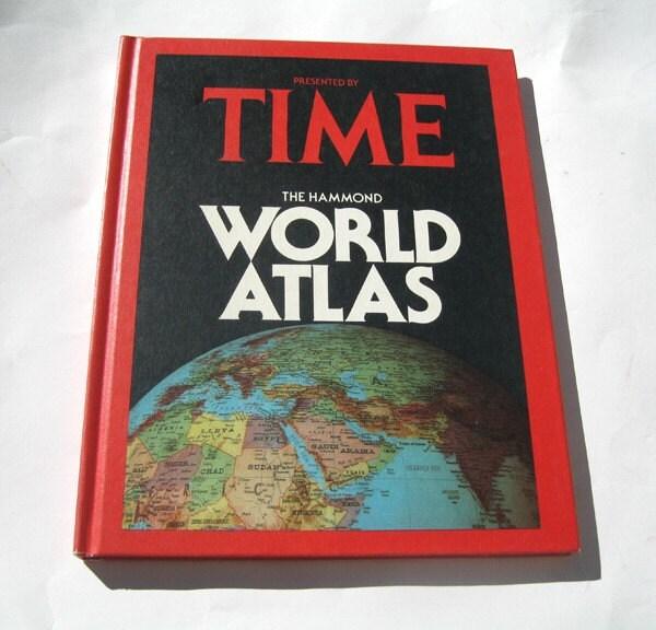 World Atlas Book. Time World Atlas Book