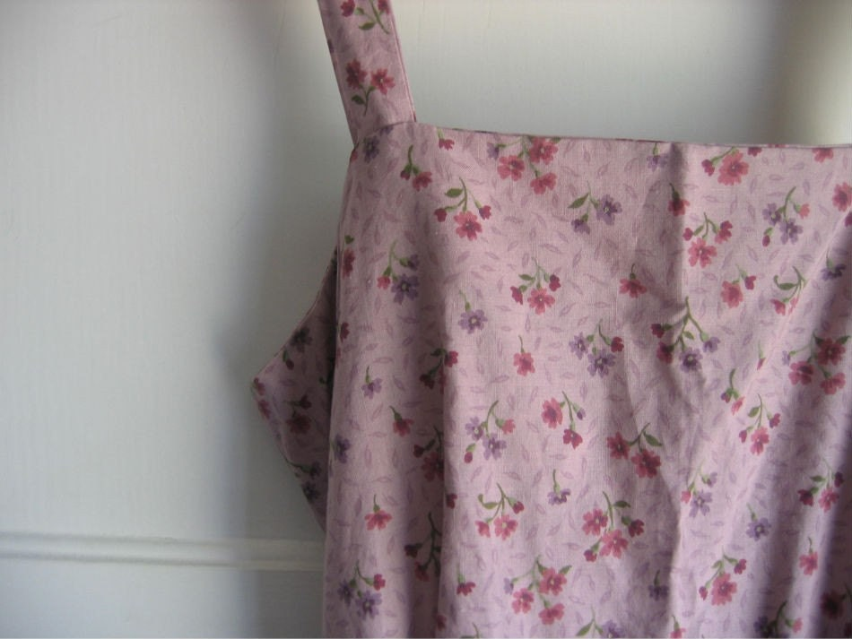 Vintage Dress Lavender Florals