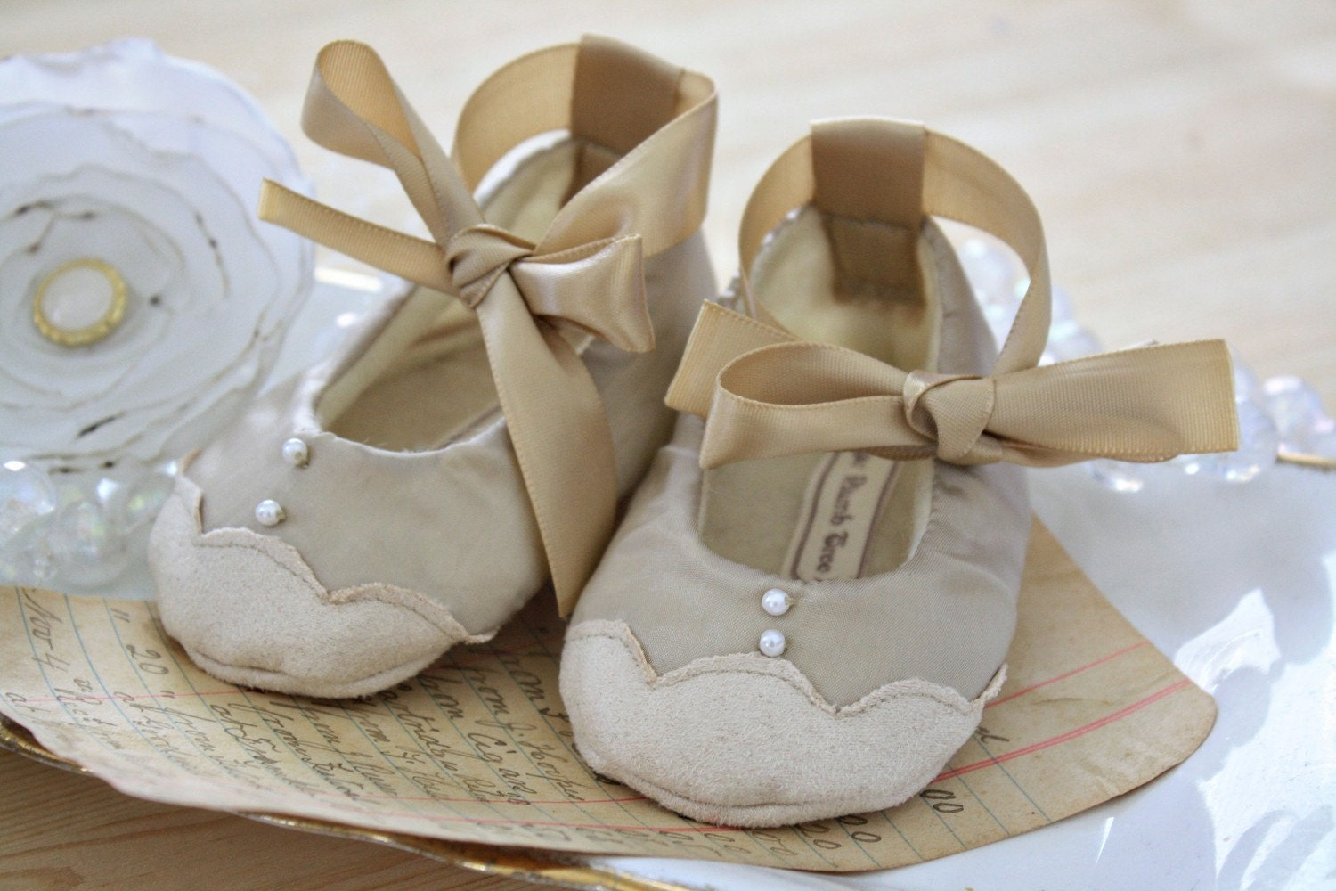 Antonia baby booties/shoes