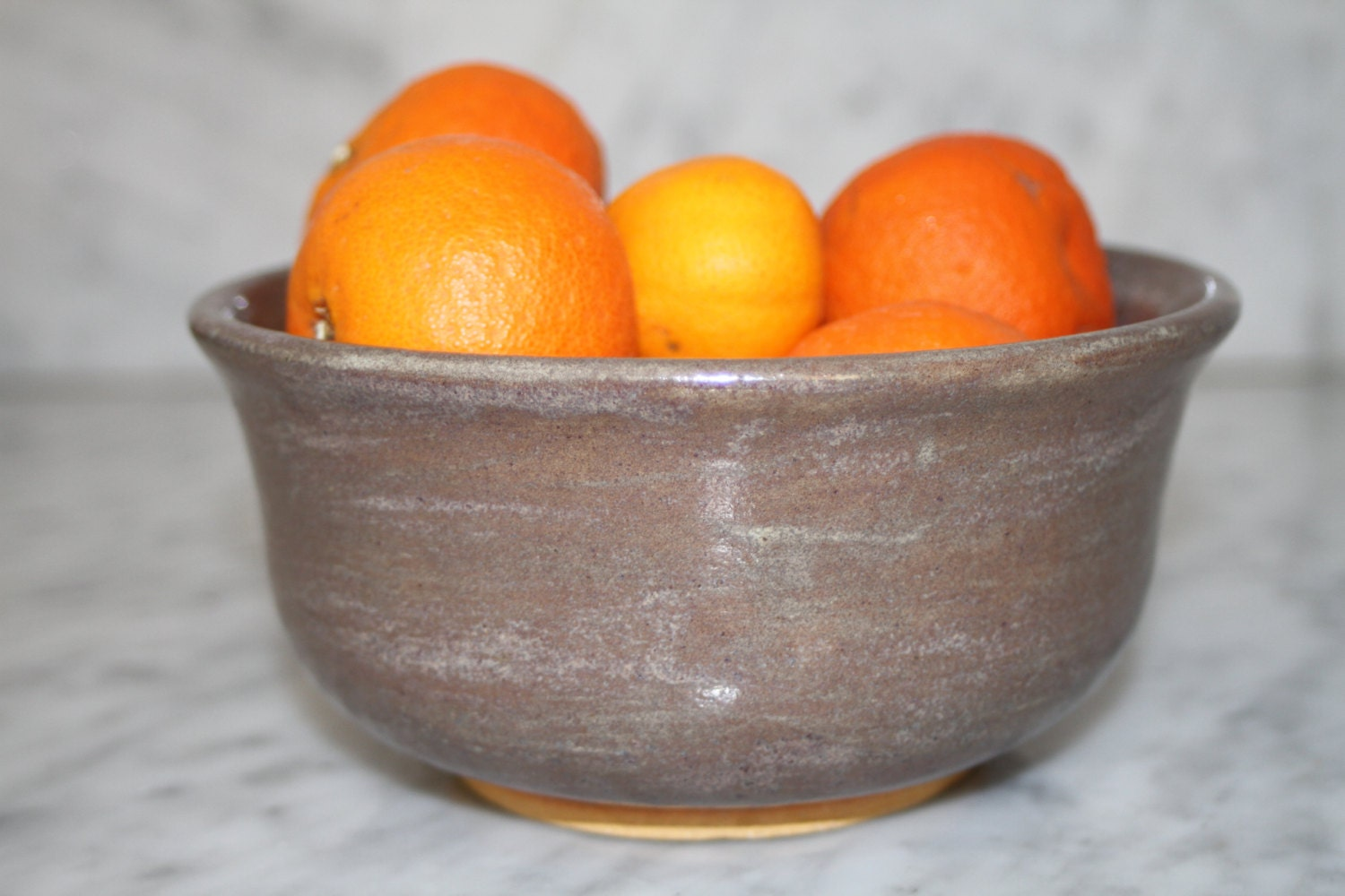 Grey Bowl ceramic prep bowl serving dish fruit bowl key bowl