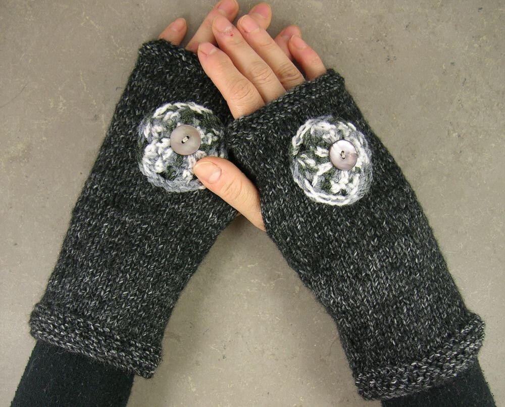 вязать варежки без пальцев