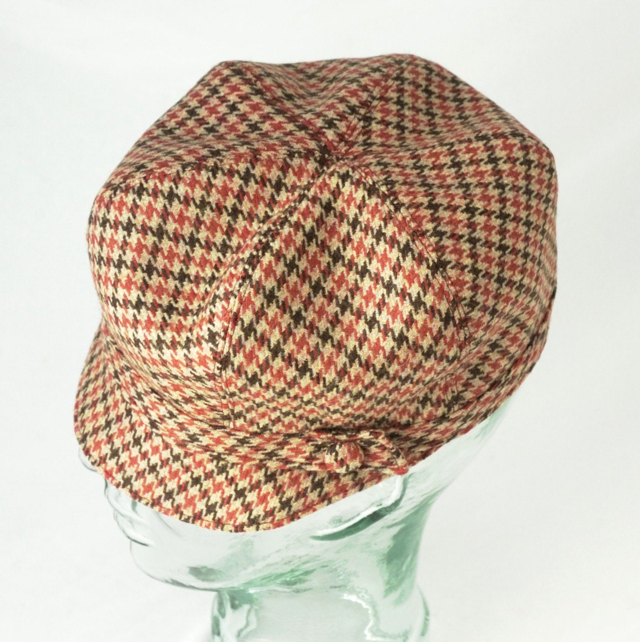 Rusty Pups Tooth Wool Newsboy Hat - M - Janis