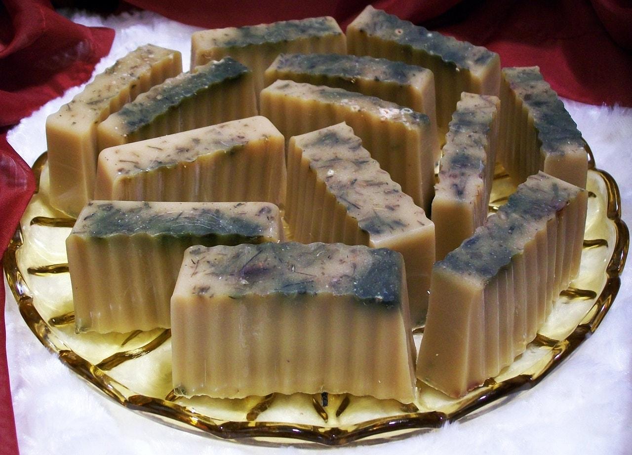 Ancient Wisdom Milk and Honey Sage Bar Soap