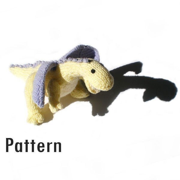 PDF Pattern - Primrose the Dragon - Knitting and Crochet