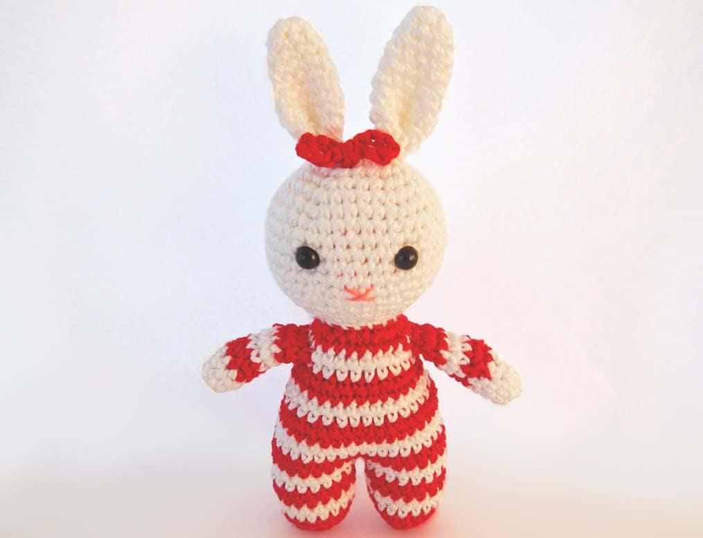 Etsy Amigurumi Bunny : Pattern for Amigurumi Crochet Bunny Rabbit by ...