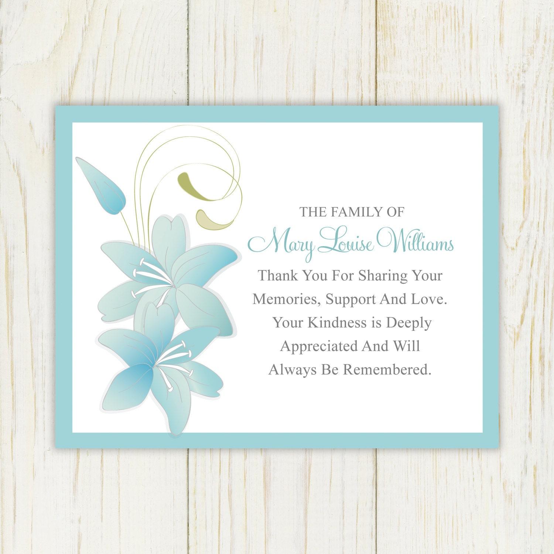 Lively image inside printable sympathy cards