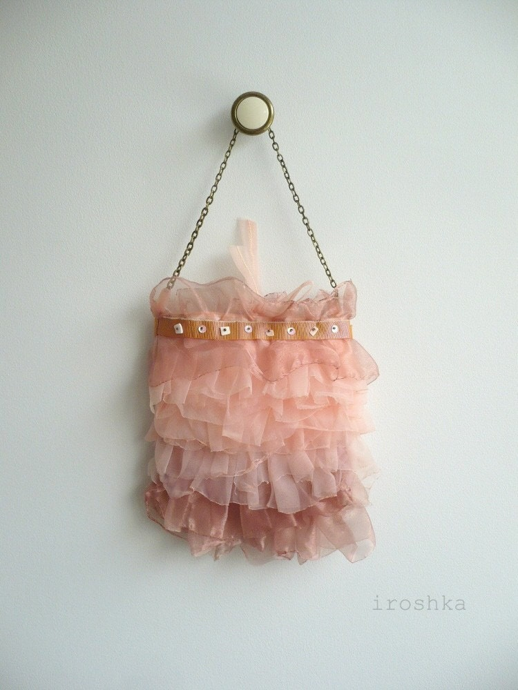SOFT RUFFLED PURSE No4