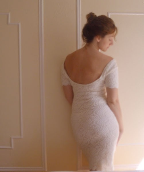 Perfume and Powdered Sugar Dress - LAST ONE of two