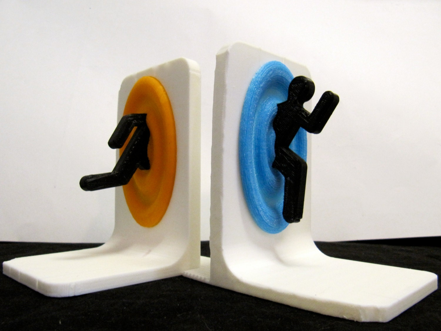 Unavailable listing on etsy - Portal book ends ...