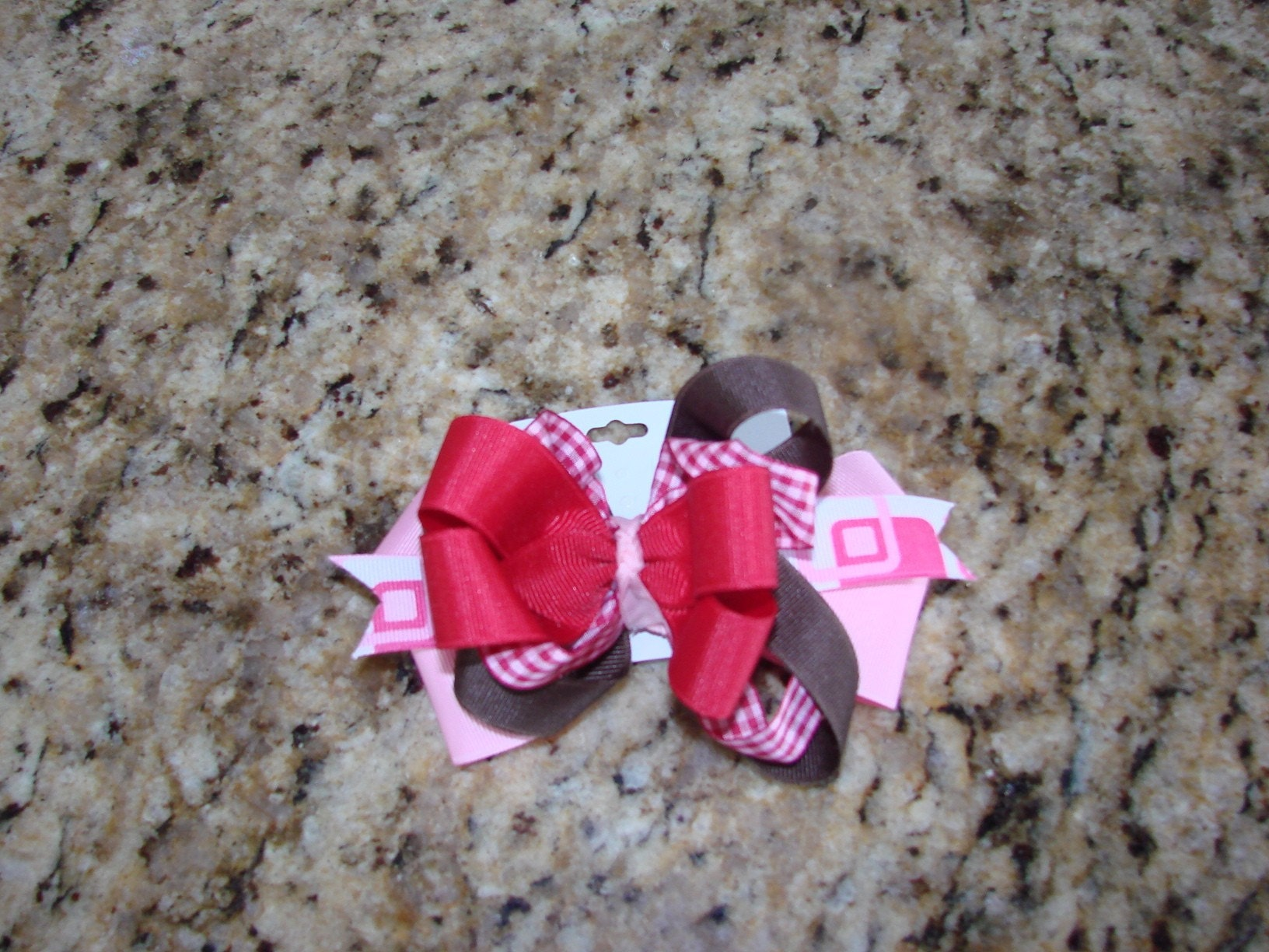 5 1/2 inch colored hairbow