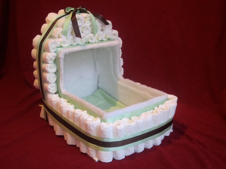 How To Make A Diaper Crib Cake