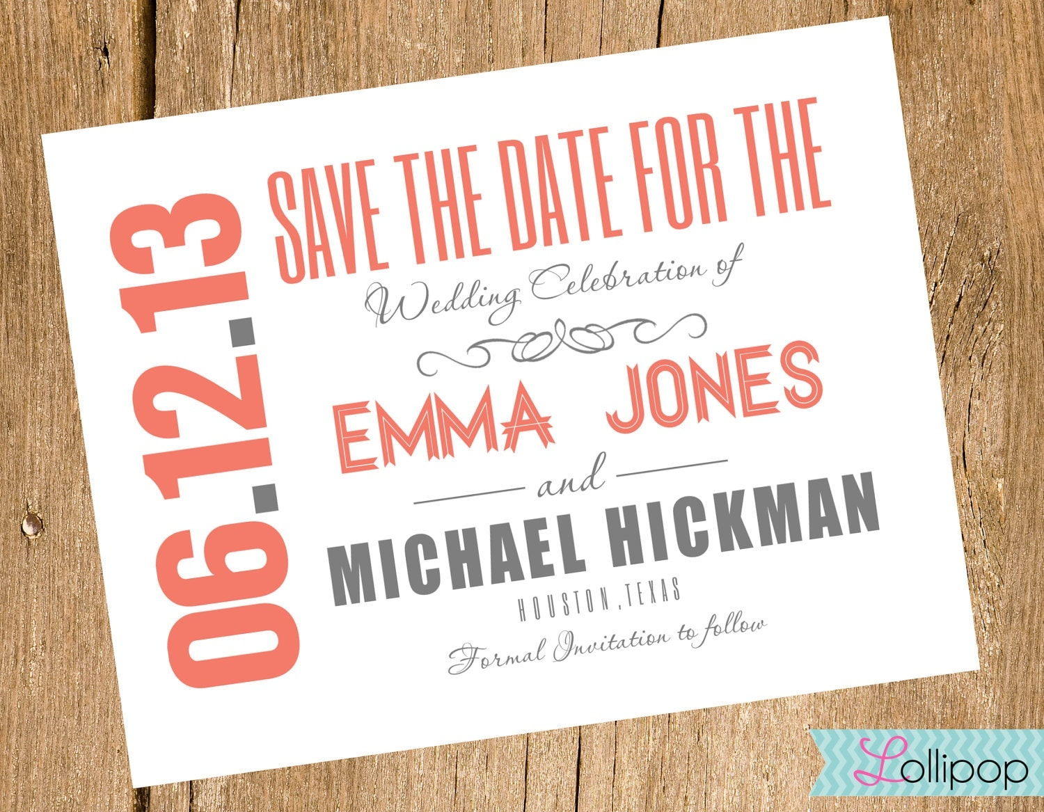 Save The Date Card Template Free] save the date card template for ...