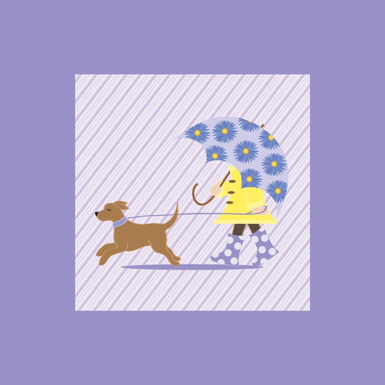 Artwork - Fine Art Print - April Showers